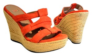 UGG Australia orange Wedges