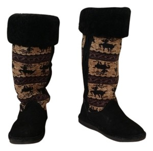 Bearpaw black and beige Boots