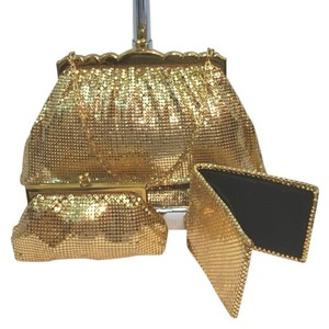 Whiting & Davis & Gold Clutch