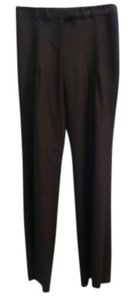 Diane von Furstenberg Trouser Pants Brown and green tweed