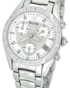 Bulova Bulova Women's Diamond Case Bracelet Watch 96R134