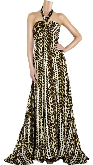 Preload https://item1.tradesy.com/images/roberto-cavalli-brown-mutil-black-animal-silk-georgette-print-gown-long-formal-dress-size-0-xs-1464025-0-0.jpg?width=400&height=650