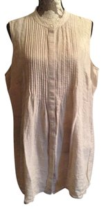 Lands' End Nwt Linen 22 Plus-size Tunic