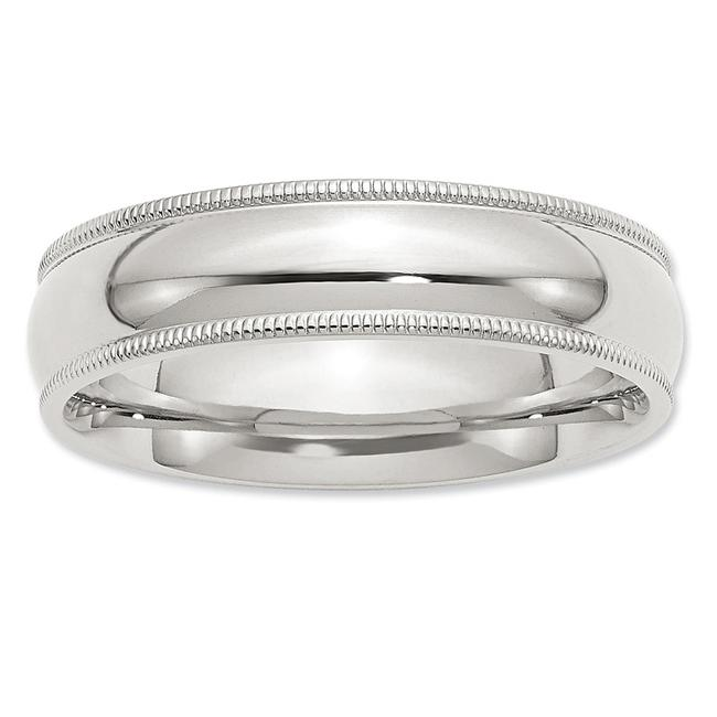 Item - Sterling Silver Size 10 Ring For The Classic Gentleman Men's Wedding Band