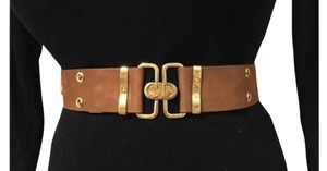 Dior Christian Dior Brown Leather Belt