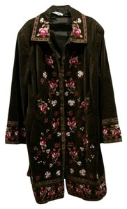 nvgard Embroidered brown Jacket