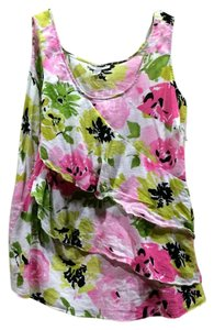 Dress Barn Top floral