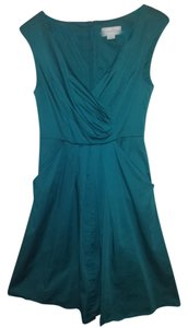 Jessica Simpson short dress Teal Retro Fit And Flare Adorable on Tradesy