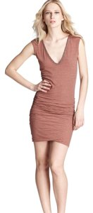 James Perse short dress Brown on Tradesy