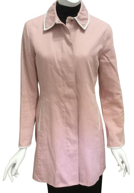 Item - Pink And White Coat Size 8 (M)