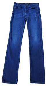Goldsign Denim Straight Leg Jeans-Distressed
