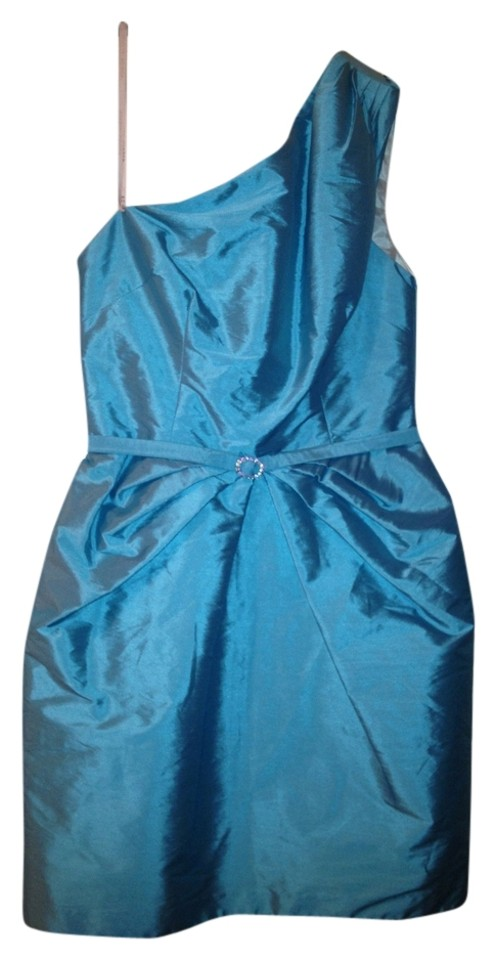 Alexia Admor Tiffany Blue Mid-length Cocktail Dress Size 4 (S) - Tradesy