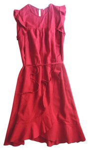 Isabel Marant short dress Berry Belted Red on Tradesy