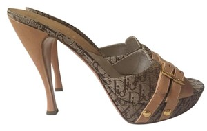 Dior Vintage light brown Platforms