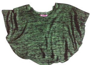 i love energie Lace Top green & black
