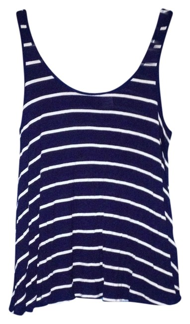 Divided by H&M Top Navy/White