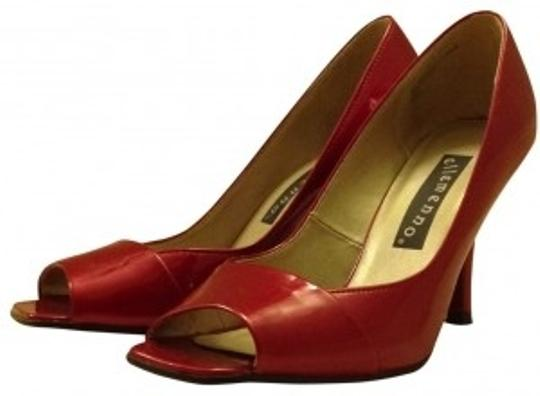 Ellemenno Candy Red Pumps