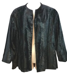 SHAMASK Cotton Black Evening Jacket Blazer
