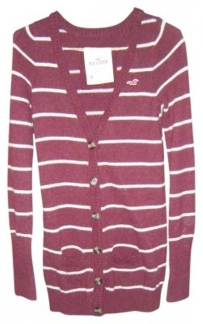Hollister Long Button Sweater Cardigan