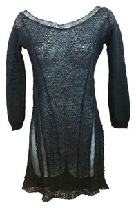 Nina Ricci Black Knit Dress