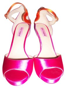 Betsey Johnson pink/orange Formal