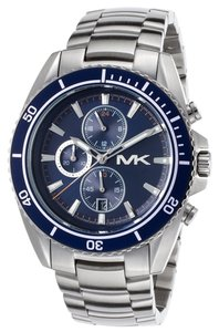 Michael Kors NWT MICHAEL KORS Jetmaster Navy Chronograph Men's Watch MK8354