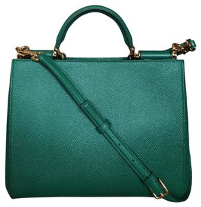 Dolce&Gabbana Fendi Misssicily Itbag Springfashion Tote in Green