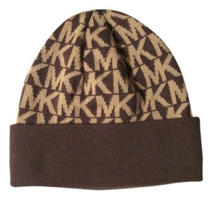 Michael Kors Brand new Michael Kor Chocolate Brown hat or beanie