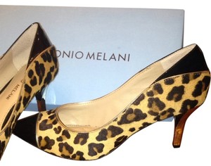 Antonio Melani Leo/Tan/Blk Pumps