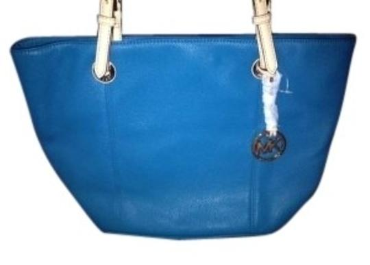 Michael Kors Tote in Blue/Aqua