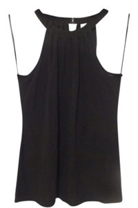 Ann Taylor Halter Top Black