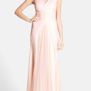 Monique Lhuillier Blush Blush Bridesmaid Dress Dress