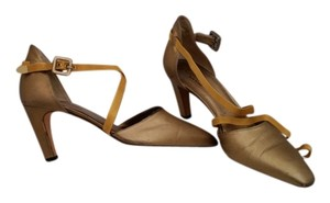 Calvin Klein Gold Pumps