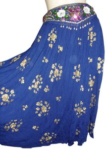 Skirt cobalt blue