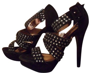 Steven by Steve Madden Black Sandals