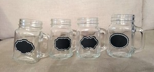 65 New Chalkboard Mason Jars