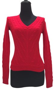 Ralph Lauren Cashmere Braided Slim Fit Sweater