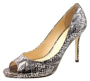 Enzo Angiolini Snake black/silver Formal