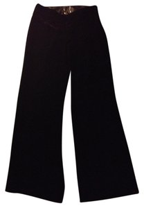 The Limited Wide Leg Wide Fancy Wide Leg Pants Velvet Black