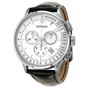 Movado Movado Circa Chronograph White Dial Mens Watch