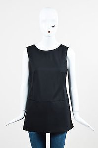 Jil Sander Wool Top Black