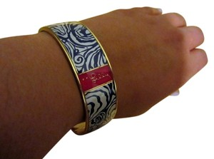 Lilly Pulitzer Pink and Navy Blue Lilly Pulitzer Bangle