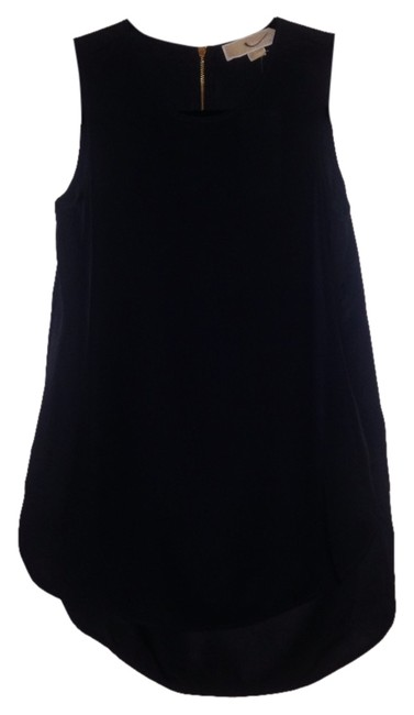 Preload https://item1.tradesy.com/images/michael-kors-navy-basic-blouse-size-2-xs-1465275-0-0.jpg?width=400&height=650