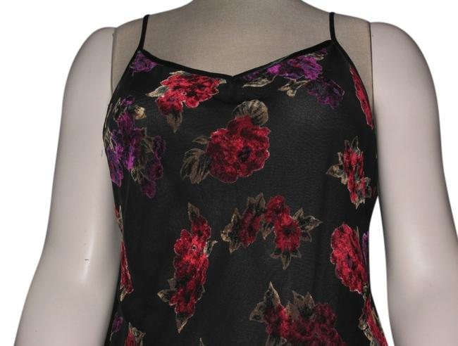 Preload https://item5.tradesy.com/images/hugo-buscati-black-w-red-and-purple-embossed-flowers-sheer-spaghetti-strap-gown-w-redpurple-velvet-l-1465344-0-2.jpg?width=400&height=650