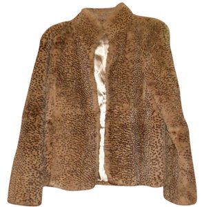 Sharon Young Rabbir Fur Fur Coat
