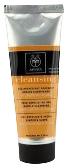 apivita apivita gentle cleansing face exfoliating gel 75ml Made in Greece