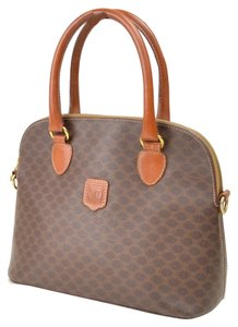 Cline Purse Leather Tote in Brown