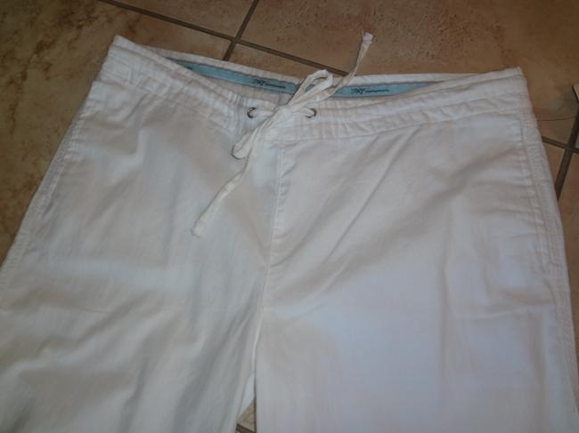 Zara Relaxed Pants White