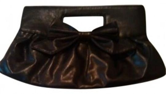 Preload https://item1.tradesy.com/images/vintage-1980s-purse-80s-black-faux-leather-bow-embellished-new-retro-clutch-146580-0-0.jpg?width=440&height=440