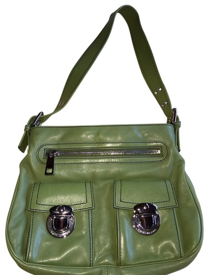 Preload https://item5.tradesy.com/images/marc-jacobs-sophia-green-leather-shoulder-bag-1465809-0-2.jpg?width=440&height=440